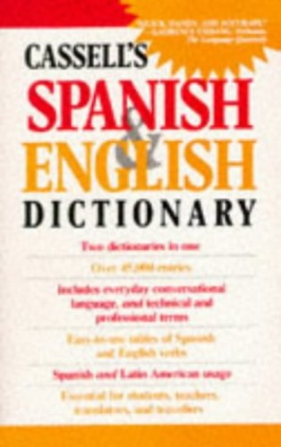 Cassell's Spanish-English, English-Spanish Dictionary By Brian Dutton