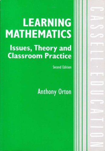 Learning Mathematics By A. Orton