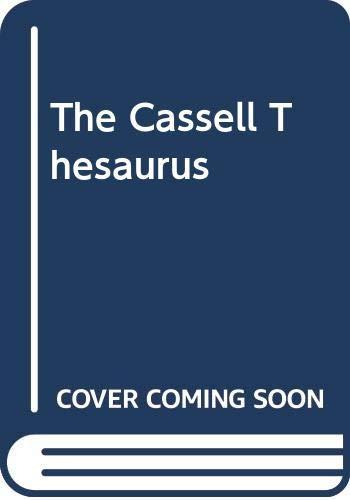 The Cassell Thesaurus by S.I. Hayakawa