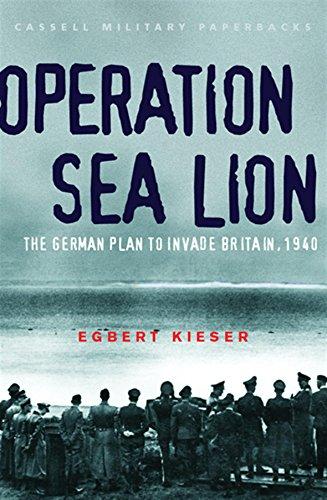Operation Sea Lion By Egbert Kieser