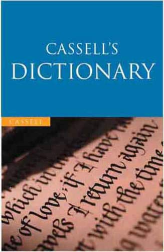 Cassell's English Dictionary By Edited by Lesley Brown