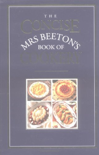 The Concise Mrs Beeton By Isabella Beeton