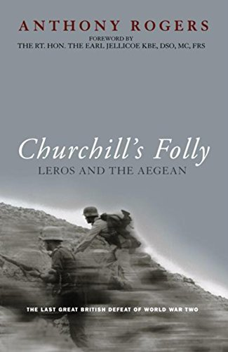 Churchill's Folly von Anthony Rogers