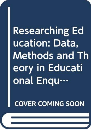 researching education institute of education series