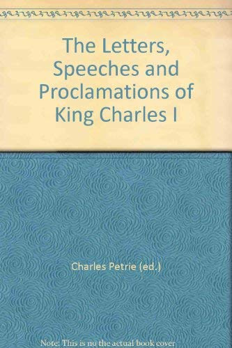 Letters By Charles, I, King of England