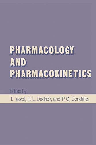 Pharmacology and Pharmacokinetics By T. Teorell