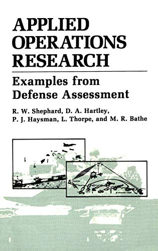 Applied Operations Research By M.R. Bathe