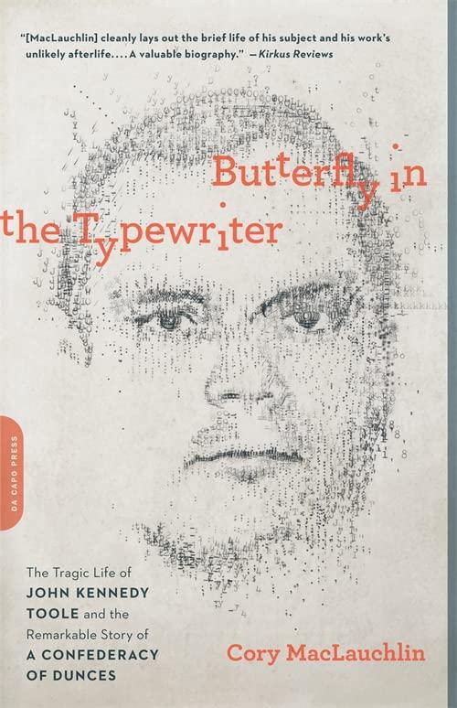 Butterfly in the Typewriter von Cory MacLauchlin
