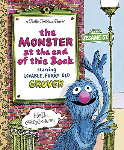 LGB The Monster At The End Of This Book (Sesame Book) By Jon Stone