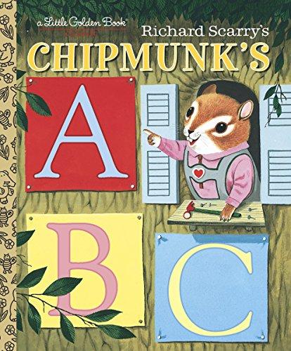 LGB Richard Scarry Chipmunk's ABC By Roberta Miller
