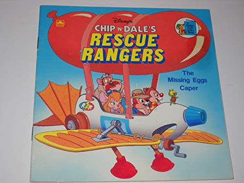 Chip 'n' Dale: Rescue Rangers: The Missing Eggs Caper (Look-look Books) By Suzanne Weyn