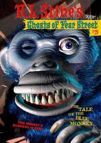 Tale of the Blue Monkey By R. L. Stine