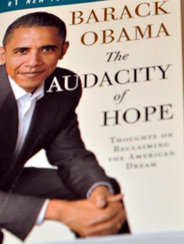 The Audacity Of Hope By Barack Obama