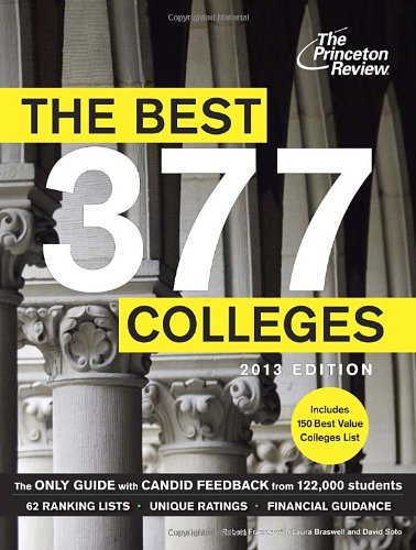 THE Best 377 Colleges By Princeton Review