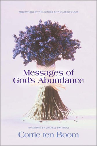 Messages of God's Abundance By Corrie Ten Boom