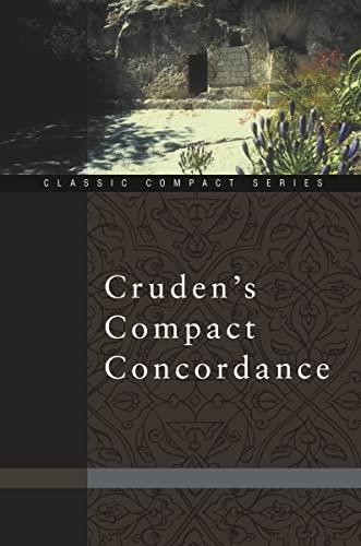 Cruden's Compact Concordance By Alexander Cruden