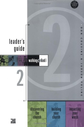Walking with God Leader's Guide 2 By Don Cousins
