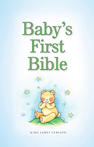 KJV, Baby's First Bible, Hardcover, Blue By Zondervan