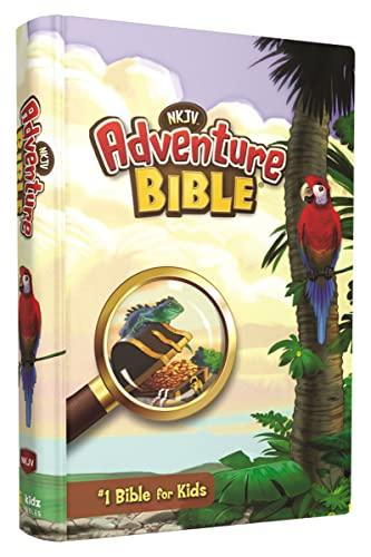 NKJV, Adventure Bible, Hardcover, Full Color By Dr. Lawrence O. Richards