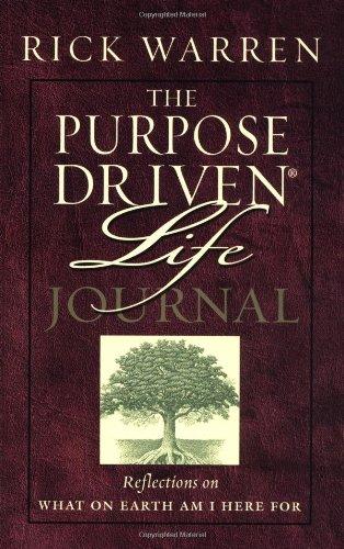The Purpose Driven Life Journal By Rick Warren