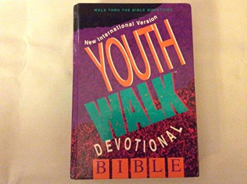 Youthwalk Devotional Bible By Bruce Wilkinson