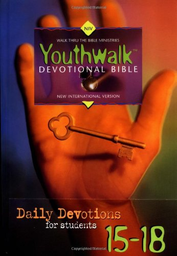 NIV Youthwalk Devotional Bible By Bruce Wilkinson