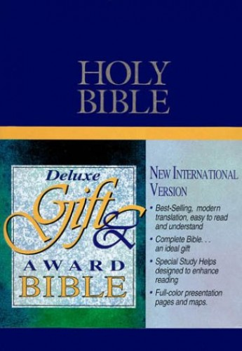 New International Version Deluxe Award Bible By Created by Zondervan Publishing