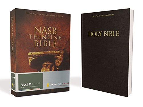 NASB, Thinline Bible, Paperback, Red Letter Edition By Zondervan
