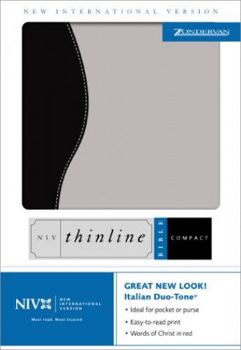 NIV Compact Thinline Bible By Created by Zondervan Publishing