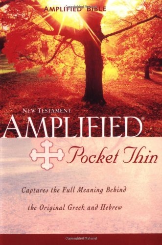 Amplified Pocket-Thin New Testament By Zondervan