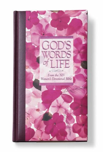God's Words of Life from the NIV Women's Devotional Bible 2 By Zondervan Publishing