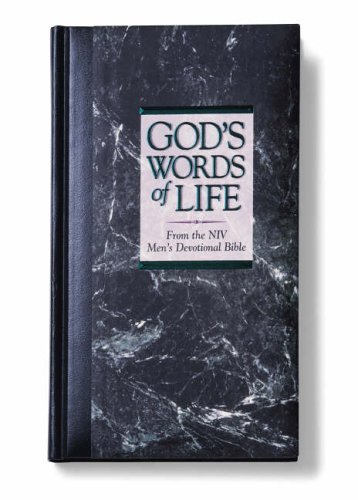 God's Words of Life from the NIV Men's Devotional Bible By Zondervan Publishing