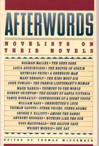 Afterwords By Edited by Thomas McCormack