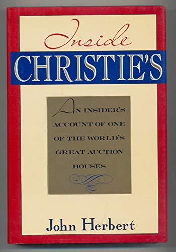Inside Christie's By John Herbert
