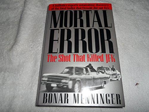 Mortal Error By Bonar Menninger