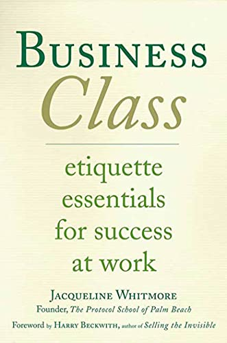 Business Class By Jacqueline Whitmore