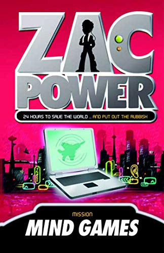 Zac Power #3: Mind Games By H I Larry