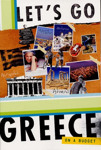 Let's Go Greece 8th Edition By Let's Go Inc