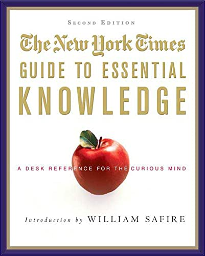 """The """"New York Times"""" Guide to Essential Knowledge By New York Times"""