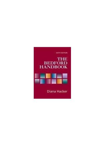 The Bedford Handbook By Mr X J Kennedy (Indiana University)