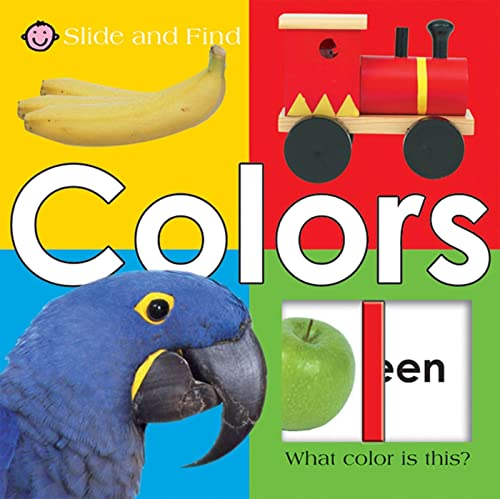 Slide and Find - Colors By Roger Priddy