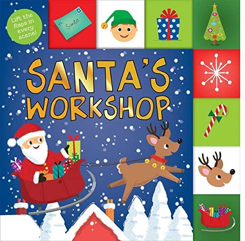 Santa's Workshop By Roger Priddy