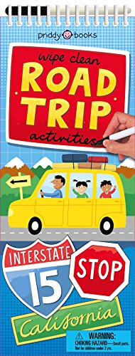 Wipe Clean Activities: Road Trip By Roger Priddy