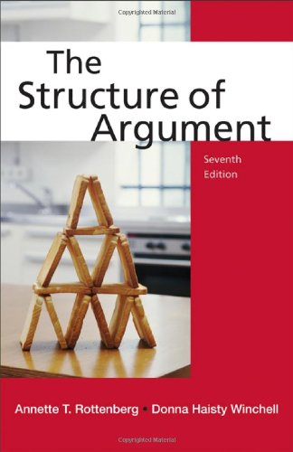 The Structure of Argument By Annette T Rottenberg