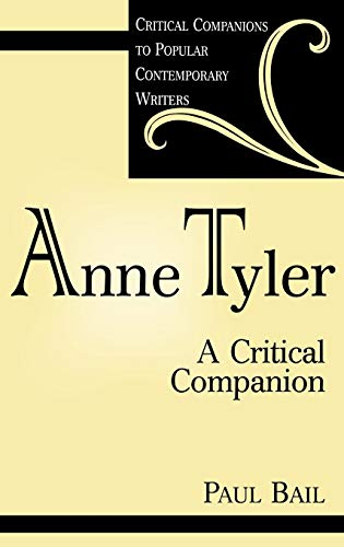 Anne Tyler By Paul Bail