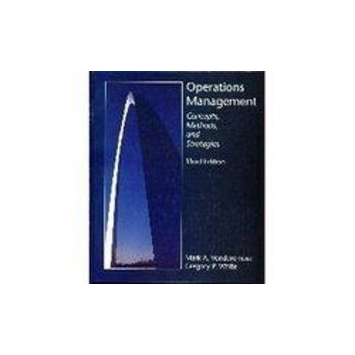 Operations Management By Mark A. Vonderembse