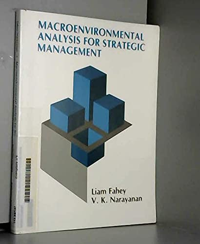 Macro Environmental Analysis for Strategic Management By Liam Fahey