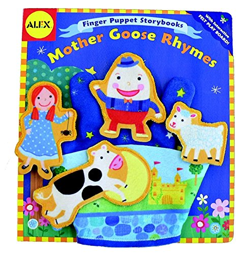 Alex Toys: Finger Puppet Storybook: Mother Goose Rhymes By Jill McDonald
