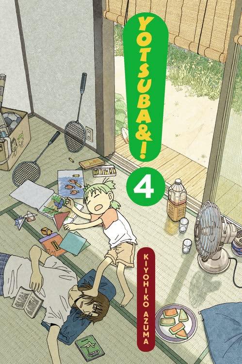 Yotsuba&!, Vol. 4 By Kiyohiko Azuma