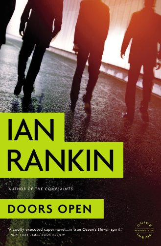 Doors Open By Ian Rankin, New York Times Best-Selling Author